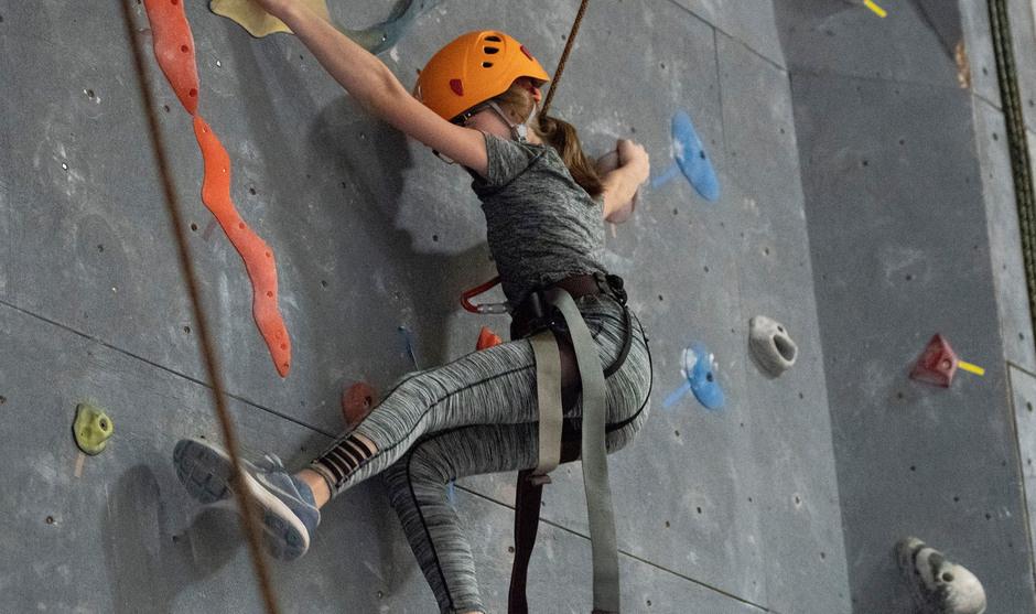 Youth Indoor Rock Climbing