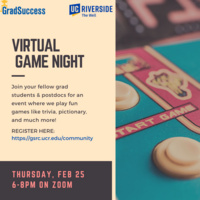 GradSuccess: Game Night