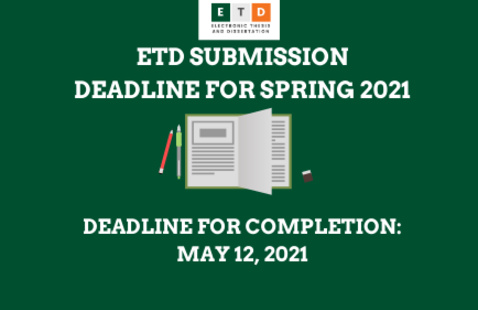 ETD Deadline for Completion