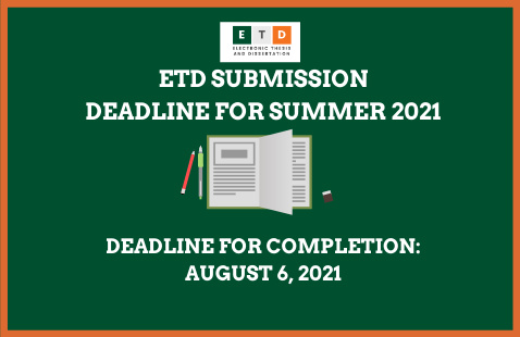 ETD Deadline for Completion