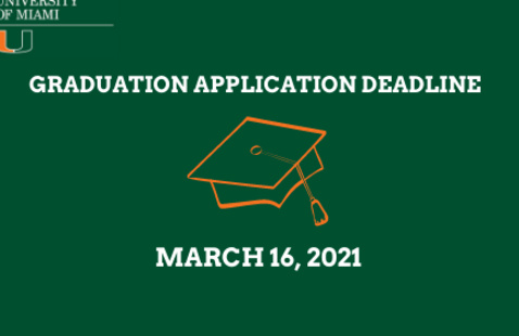 Deadline to apply for graduation