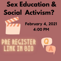 Sex Education & Social Activism?