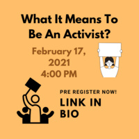 What does it mean to be an activist?