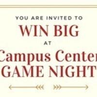 BINGO - Campus Center Game Night!