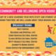 Community and Belonging Open House