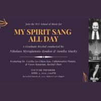 Student Recital Series: TCU Chamber Choir, graduate conducting recital.