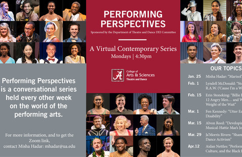 Performing Perspectives Sponsored by the Department of Theatre and Dance DEI Committee