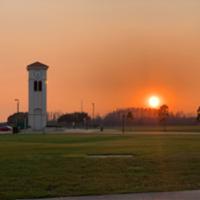 Osceola campus clock tower