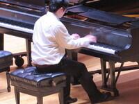 Pianist Luke Liu