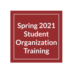 CLSI Student Organization Advising Sessions