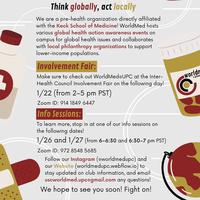 WorldMed@UPC Info Sessions