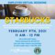 Starbucks Virtual Employer Info Sessions