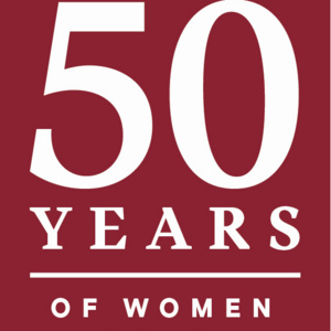 Celebrating 50 Years of Coeducation at Colgate: Gloria Borger '74, H'14, P'10 and President Brian W. Casey