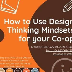how to use design thinking mindsets in your co-op at BGSU.
