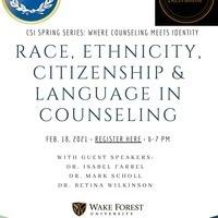 Race, Ethnicity, Citizenship & Language in Counseling
