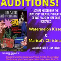 Auditions! Watermelon Kisses & Marisol's Christmas