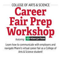 College of Arts & Science Career Fair Prep Workshop Featuring: Enterprise Holdings Inc.