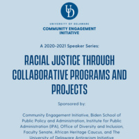 Racial Justice Through Collaborative Programming