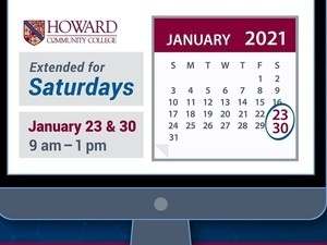 Howard Community College Virtual Enrollment Services Special Saturday Hours