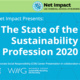 USC Marshall Net Impact Presents: The State of the Sustainability Profession 2020