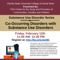 Substance Use Disorder Series: Co-Occurring Disorders with Substance Use Disorders