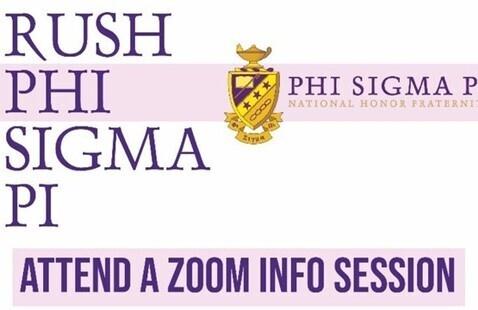 Info Session - Rush Phi Sigma Pi!