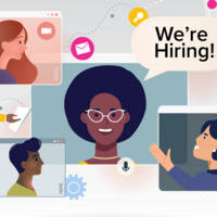 We're hiring! illustration