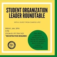 Student Organization Leader Roundtable