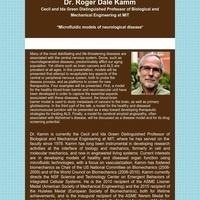 Bioengineering Seminar Series:  Roger Dale Kamm