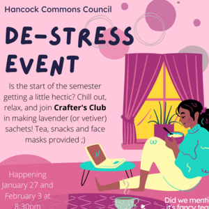 Hancock Commons de-Stress Event