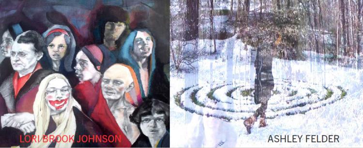MFA Thesis Exhibit - The Self Outside by Ashley Felder and Lori B...
