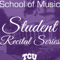 Student Recital Series: Diego Torres Reyes, clarinet. Cecilia Kao, piano