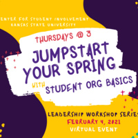 T@3: Jumpstart Your Spring with Student Org Basics