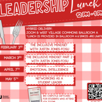 Leadership Lunch: Networking as a Student Leader