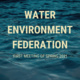 Water Environment Federation Chapter Meeting