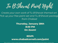 Tu B'Shevat Paint Night