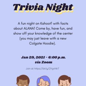 ALANA Trivia Night