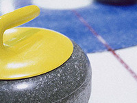 Curling with Caitlin