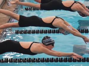 Charger Swimming at Findlay