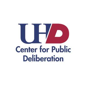 UHD Center for Publid Deliberation logo