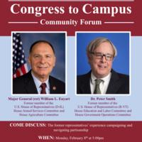 Congress to Campus Community Forum