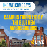Campus Tour with the Blue Hen Ambassadors