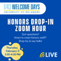 Honors Drop-In Hour