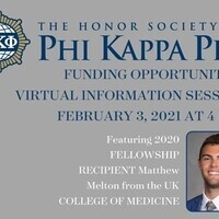 Phi Kappa Phi Funding Opportunities Virtual Information Session