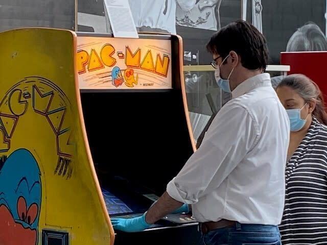 The Arcade Age Exhibit