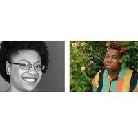 Pictures of Sydnie L. Mosley and Sharon Udoh.