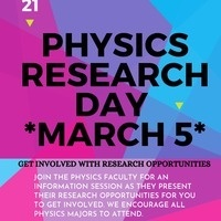 Physics Research Day 2021
