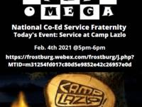 APO-Recruitment Service at Camp Lazlo