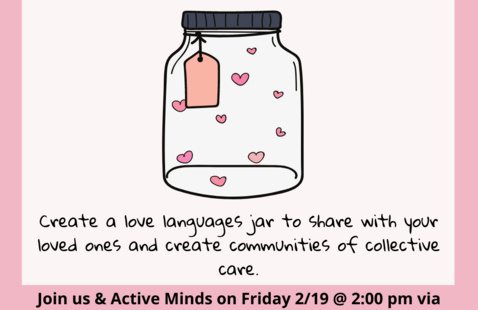 Create for Community: Love is Sustainable (with Active Minds)