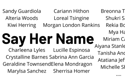 SayHerName: Building Community to Support Women of Color at OHIO